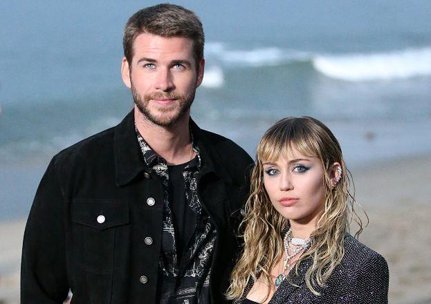 """Smutny Liam Hemsworth komentuje na Instagramie rozstanie z Miley Cyrus: """"Życzę jej szczęścia"""""""