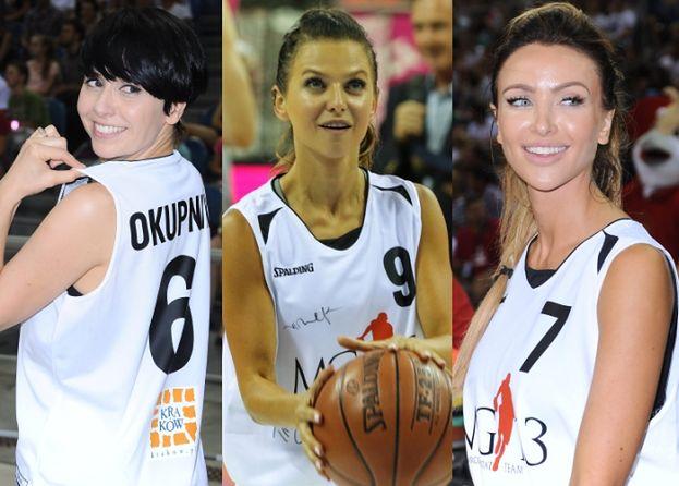 Lewandowska, Pietrasińska i Okupnik grają z Gortatem (ZDJĘCIA)
