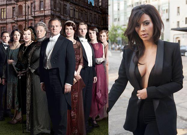 """Kim Kardashian chce zagrać w... """"Downton Abbey""""!"""