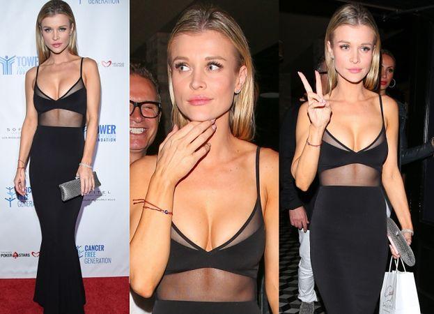 Joanna Krupa odsłania piersi na kolacji w Hollywood (ZDJĘCIA)