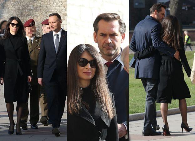 Marta Kaczyńska z nowym partnerem i prezydentem odwiedza grób rodziców (ZDJĘCIA)