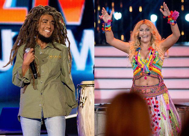"""Shakira i Bob Marley w """"Twoja twarz brzmi znajomo""""! (ZDJĘCIA)"""