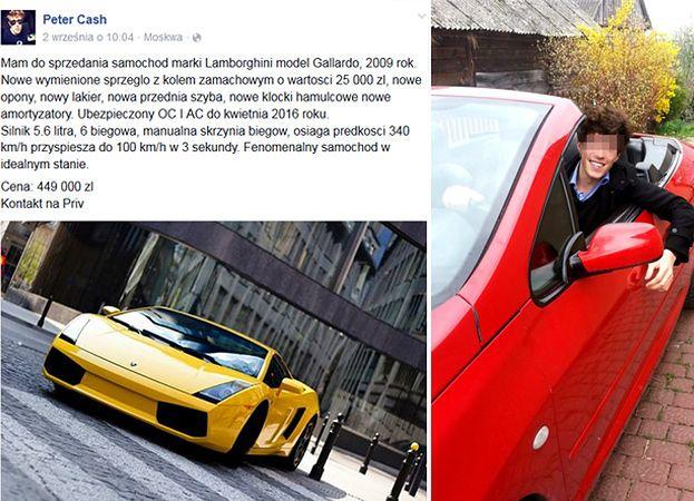Piotr K Sprzedaje Swoje Lamborghini Pudelek