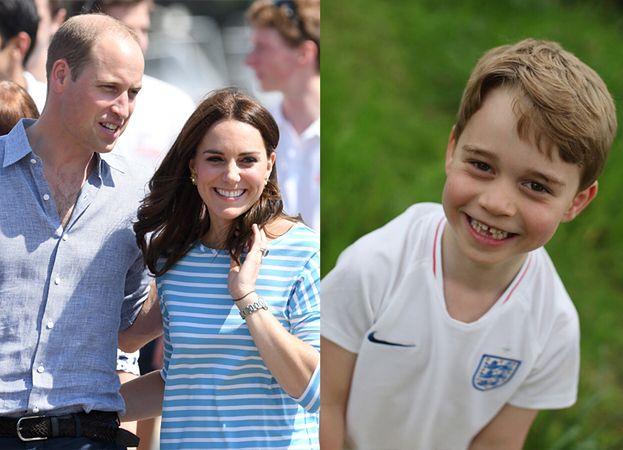Kate i William wyprawili księciu Jerzemu urodzinowe przyjęcie w stylu piłkarskim!