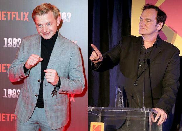 """Zawieruchę WYCIĘTO  z filmu Tarantino?! """"Zawsze będę podkreślał, że praca z nim to wielki zaszczyt"""""""