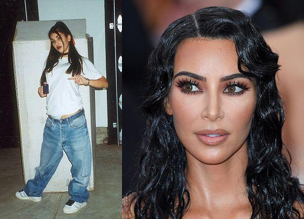 Kim Kardashian pochwaliła się zdjęciem z młodości: