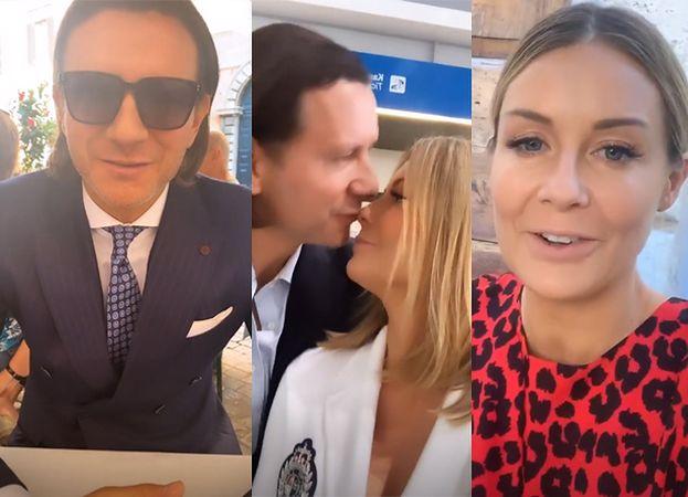 """Eleganccy Majdanowie świętują trzecią rocznicę ślubu w Rzymie: """"Cieszymy się tym, że jesteśmy tyle czasu razem"""""""