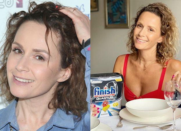 """Monika Mrozowska """"je"""" kapsułki do zmywania na śniadanie. Internauci: """"Co będzie następne? OBIAD Z MAŚCIĄ NA HEMOROIDY?"""""""