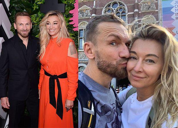 """Martyna Wojciechowska i Przemek Kossakowski pochwalili się wspólnym zdjęciem: """"Co stało się w Amsterdamie, zostaje w Amsterdamie"""""""
