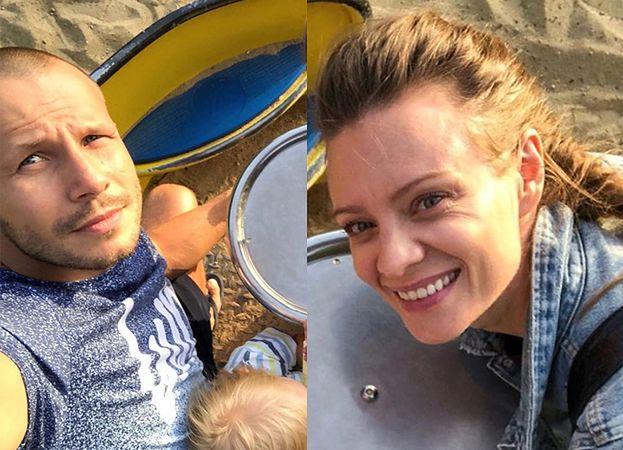 """Magdalena Boczarska świętuje urodziny Mateusza Banasiuka rodzinnym zdjęciem. Fani: """"Piękny obrazek"""""""
