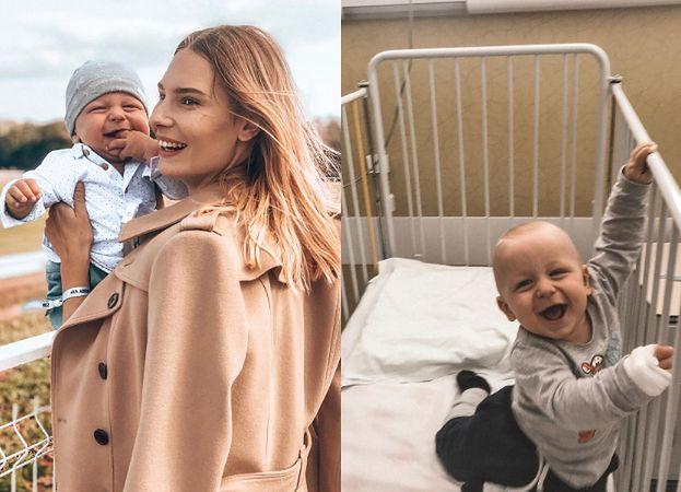 """Syn Ewy Niespodziany z """"Top Model"""" miał zabieg usunięcia SZÓSTEGO PALCA (FOTO)"""