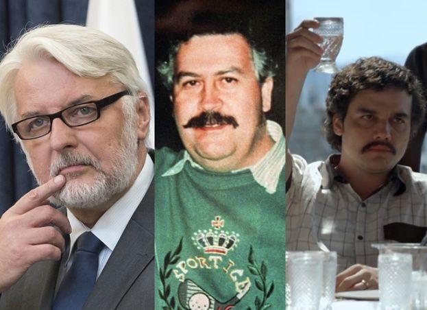 Waszczykowski chwali się, że spotkał się z politykami państwa... San Escobar