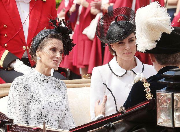 """Księżna Kate ZIGNOROWAŁA królową Letizię? """"Nawet na nią nie spojrzała, co ona jej zrobiła?"""" (WIDEO)"""