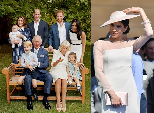 The royal photos of Prince Charles were published. Meghan again