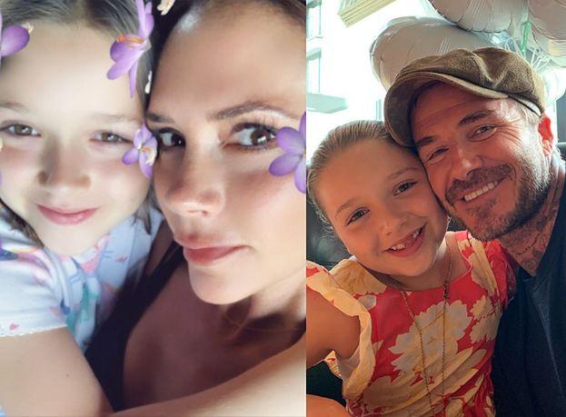 """Skromni Beckhamowie świętują ósme urodziny córki: """"Wszystkiego najlepszego dla małej dziewczynki o wielkim sercu"""" (FOTO)"""
