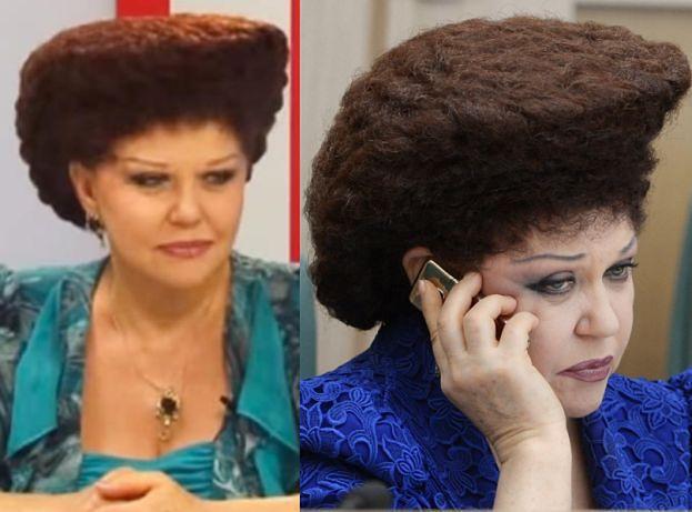 Hit Internetu Fryzura Rosyjskiej Polityk Walentyny Petrenko