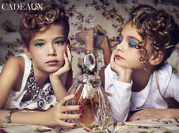 """6-letnie dziewczynki w sesji dla """"Vogue'a""""!"""