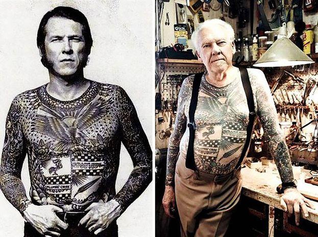 Jak Będziesz Wyglądał Na Starość Z Tatuażami Na Przykład