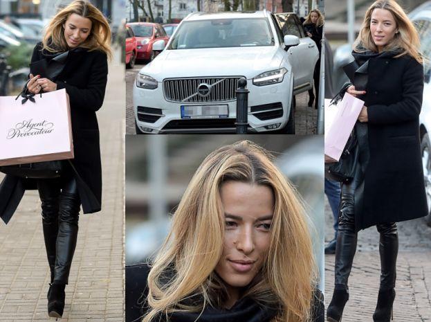 Szczęśliwa Chodakowska wraca z kolejnych zakupów (ZDJĘCIA)
