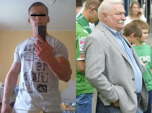 Wnuk Wałęsy wraca do aresztu. Dziadek wpłacił kaucję, ale nie pomogło&