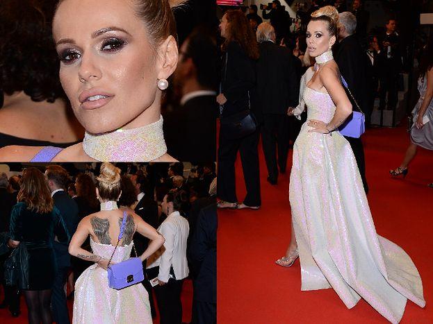 """""""Kosmiczna"""" Doda walczy o uwagę na czerwonym dywanie w Cannes. Piękna? (ZDJĘCIA)"""