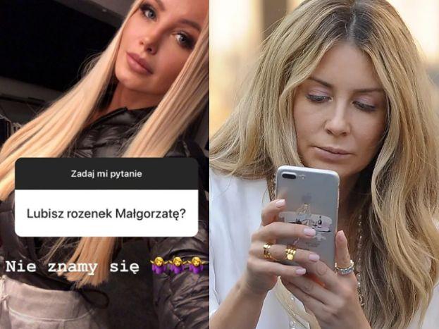 """Szczera Gąska odpowiada na pytania fanów: """"Małgorzata Rozenek? NIE ZNAMY SIĘ"""