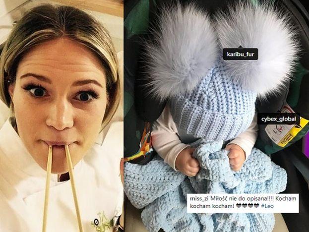 """Zosia Ślotała ubiera dzieci w... czapki z NATURALNYM FUTREM! """"Może obejrzyj z synkiem jak obdziera się zwierzątka ze skóry?"""""""