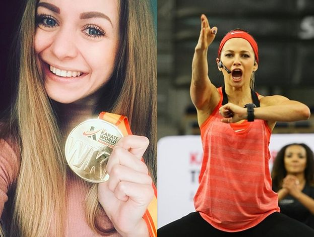 """Młoda mistrzyni świata w karate atakuje Lewandowską: """"Ona nie jest prawdziwą mistrzynią!"""""""