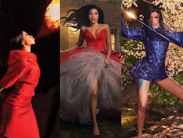 """Cardi B zionie ogniem na okładce amerykańskiego """"Harper's Bazaar"""""""