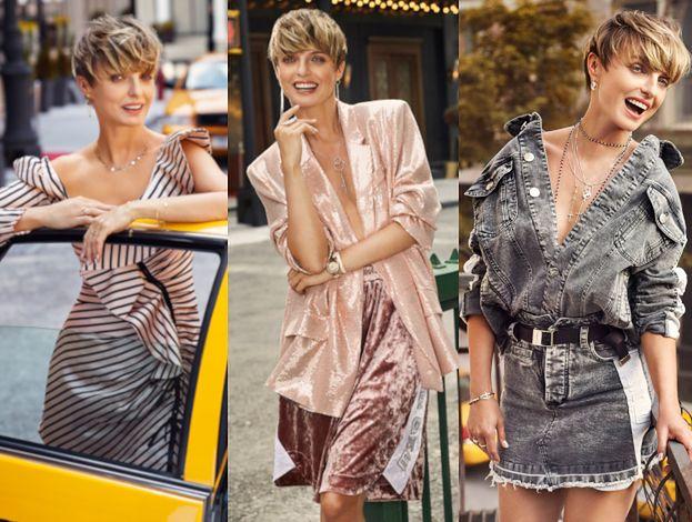 Kasia Sokołowska Hasa Po Nowym Jorku Reklamując Biżuterię