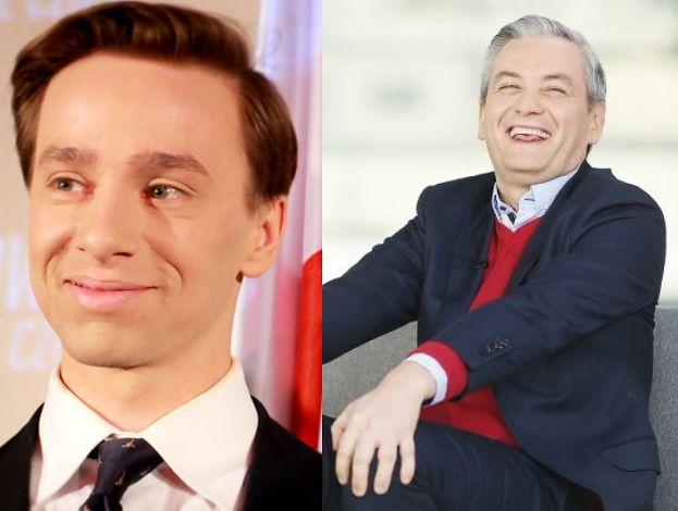 """Krzysztof Bosak ciepło wspomina Biedronia: """"Gdy byłem młodym chłopakiem, deklarował, że chętnie UMYŁBY MI PLECY"""""""
