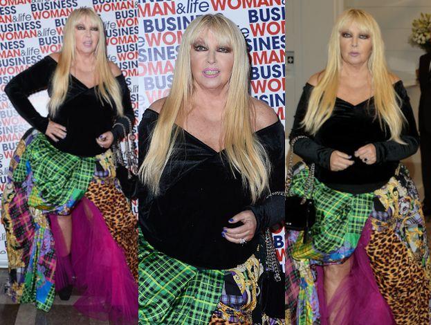 Maryla Rodowicz bryluje na salonach w spódnicy Versace