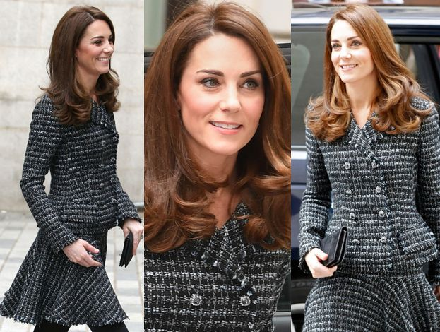 Księżna Kate na konferencji poświęconej zdrowiu psychicznemu w kreacji skompromitowanych projektantów (FOTO)