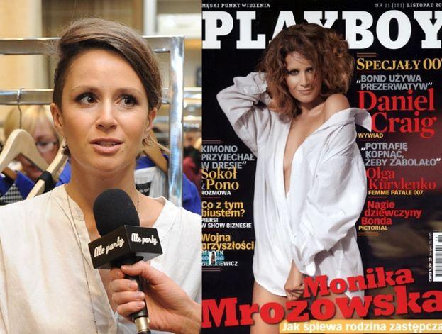 """Mrozowska znów nago w """"Playboyu"""""""