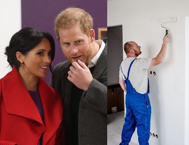 Meghan i Harry też mają problemy z budowlańcami...