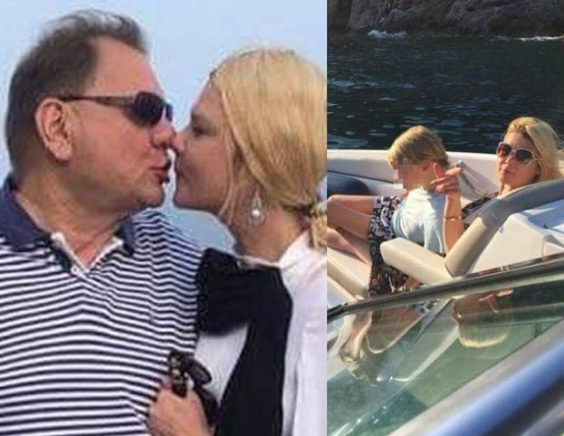 Kalisz na kolejnych wakacjach z rodziną. Ryszard całuje żonę z dziubkiem (FOTO)