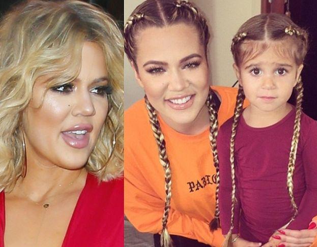 Khloe Kardashian Przedłużyła Włosy 3 Letniej Siostrzenicy
