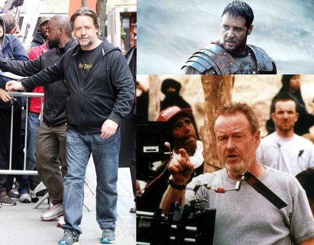 """Ridley Scott zapowiada& """"Gladiatora 2"""" z Rusellem Crowe!"""
