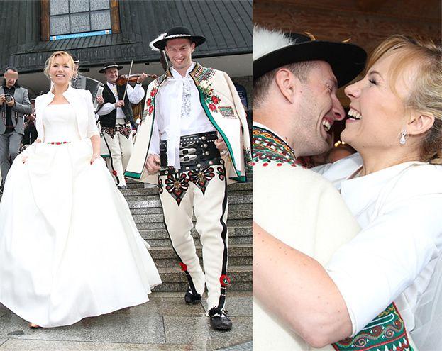 Góralski ślub Anny Guzik Zdjęcia Pudelek