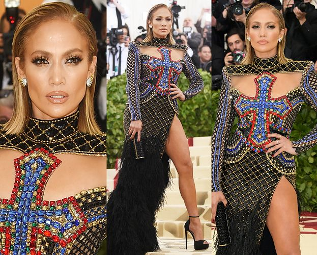 """Jennifer Lopez kusi udem w """"katolickiej"""" stylizacji"""