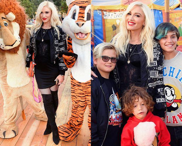 Gwen Stefani zabrała synów na pokaz Moschino
