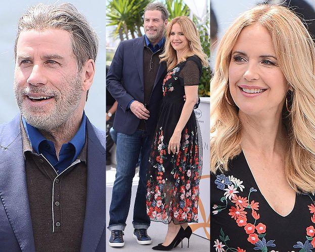 64-letni John Travolta zabrał całą rodzinę do Cannes