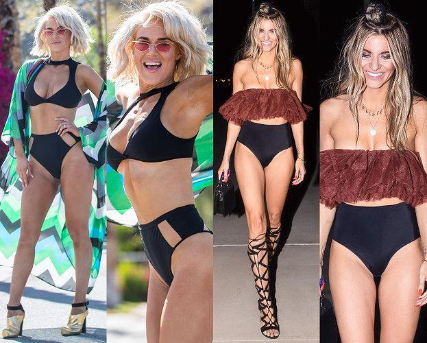 Modelki chwalą się festiwalowymi stylizacjami na Coachelli