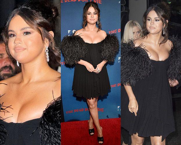Selena Gomez i jej odważny dekolt zmierzają na premierę filmu o zombie
