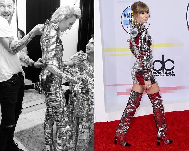 Sukienka Taylor Swift wygląda NIEMAL IDENTYCZNIE jak strój Reni Jusis. Przypadek? (FOTO)