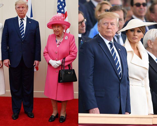 Donald i Melania Trump świętują D-Day i kończą wizytę w Wielkiej Brytanii (FOTO)