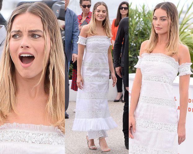 Cannes 2019: Margot Robbie pozuje w romantycznej sukience od Chanel