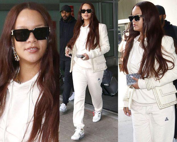 Odmieniona Rihanna skrywa twarz za okularami za 3 tysiące złotych