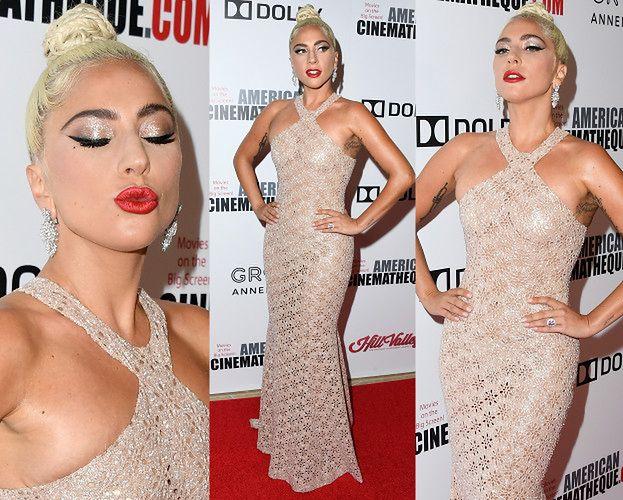 Olśniewająca Lady Gaga Eksponuje Wytatuowaną Pachę Na