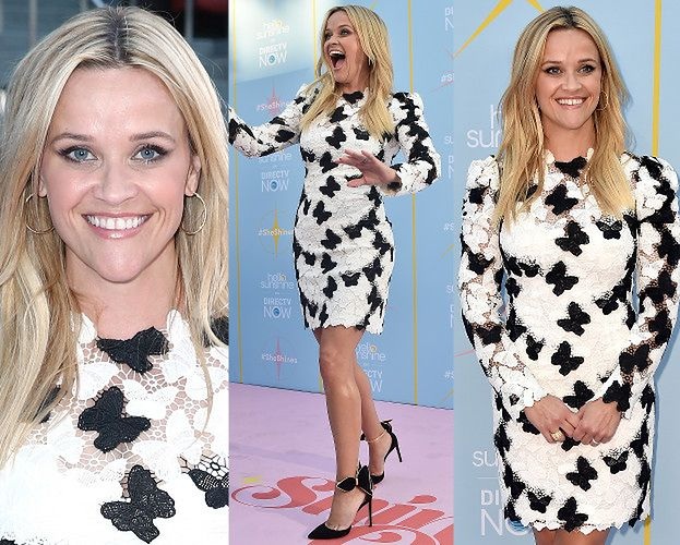 Reese Witherspoon pozuje w koronkach za 15 tysięcy
